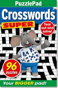 Family PuzzlePad Crosswords Super