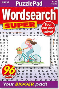 Family PuzzlePad Wordsearch Super