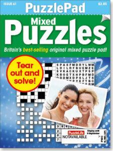 Family PuzzlePad Mixed Puzzles