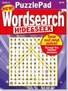 Family PuzzlePad Wordsearch Hide&Seek