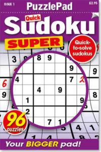 Family PuzzlePad Sudoku Super